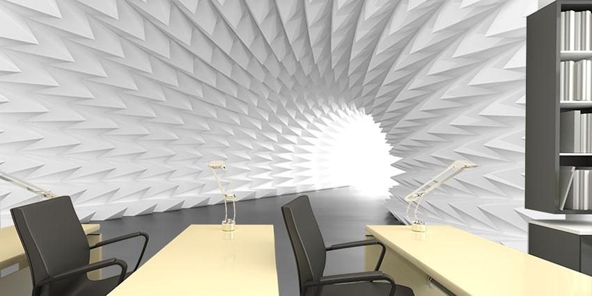 Абстрактный-архитектурный-туннель-офис-Киев-Украина