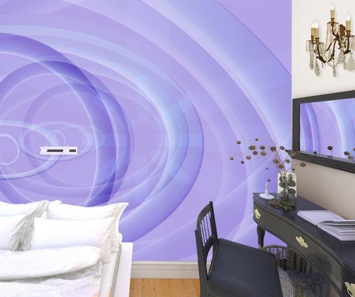 Фотообои-с-абстрактным-геометрическим-спальня-Киев-Украина