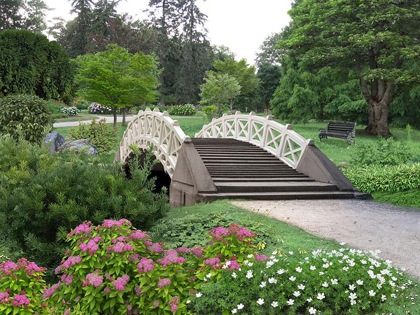Фотошпалери розширення простору міст парк сад
