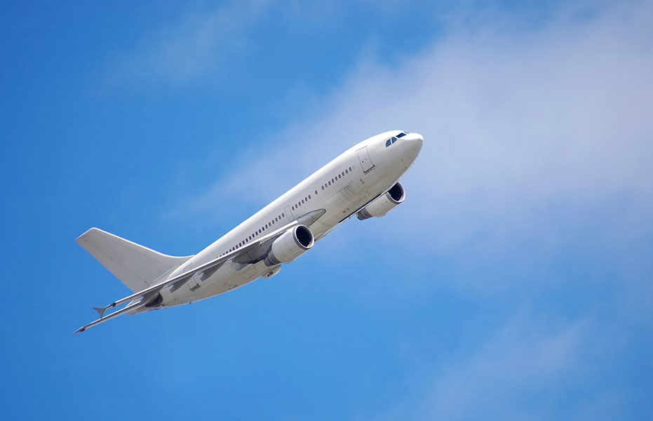 Фотообои самолет небо полет авиация