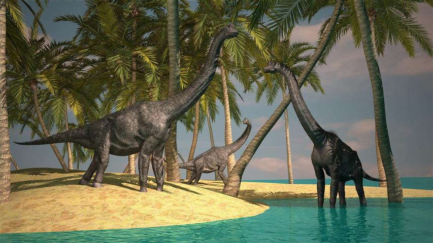 Фотообои древний доисторический доисторический динозавр