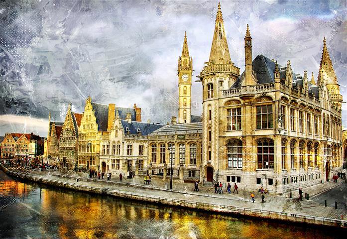 Фотообои архитектура, город, город, достопримечательность