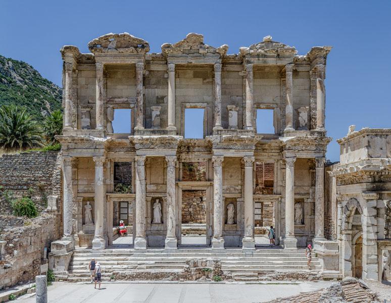 Фотообои эфес замок достопримечательность архитектура