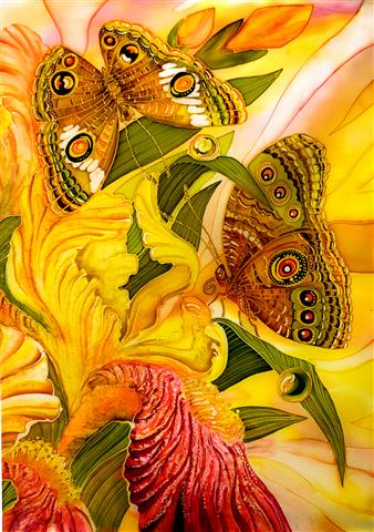 Фотообои искусство бабочка дизайн арт