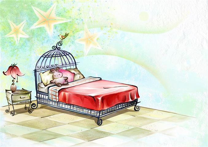 Фотошпалери мистецтво малюнок спальня арт