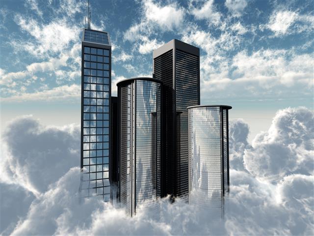 Фотообои искусство небоскреб дизайн арт