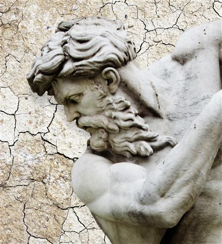 Фотообои искусство скульптура стена арт