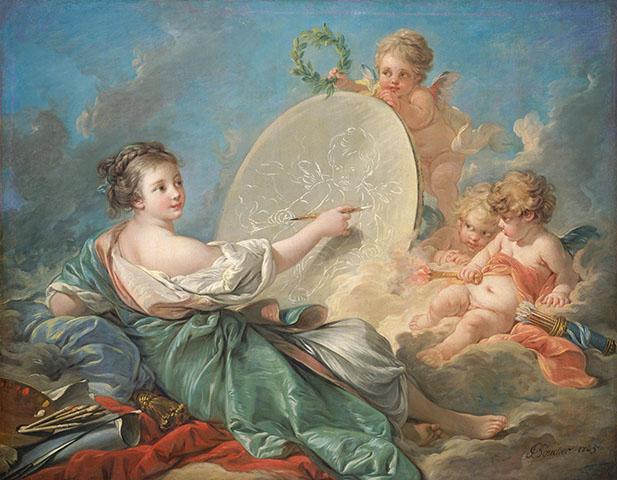 Фотошпалери мистецтво  Франсуа Буше картина арт