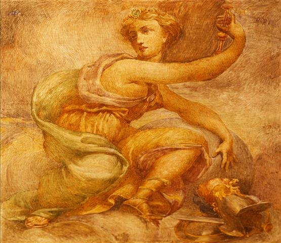 Фотообои искусство фреска дизайн арт