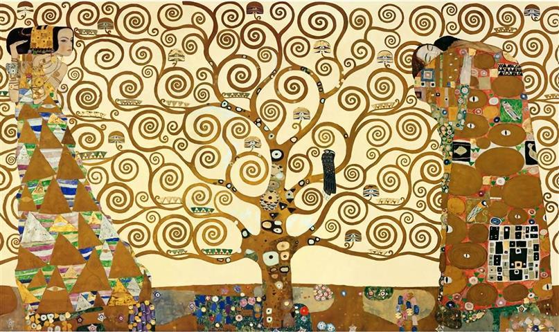 Фотошпалери мистецтво дерево життя густав клімт климт густав