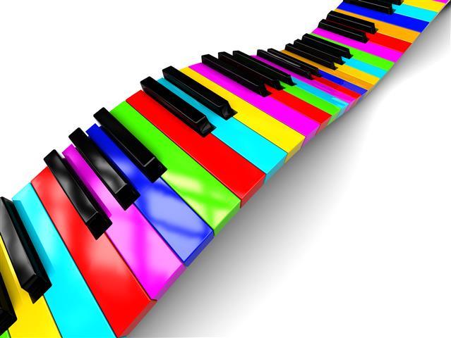 Фотошпалери арт музика дизайн різнокольоровий