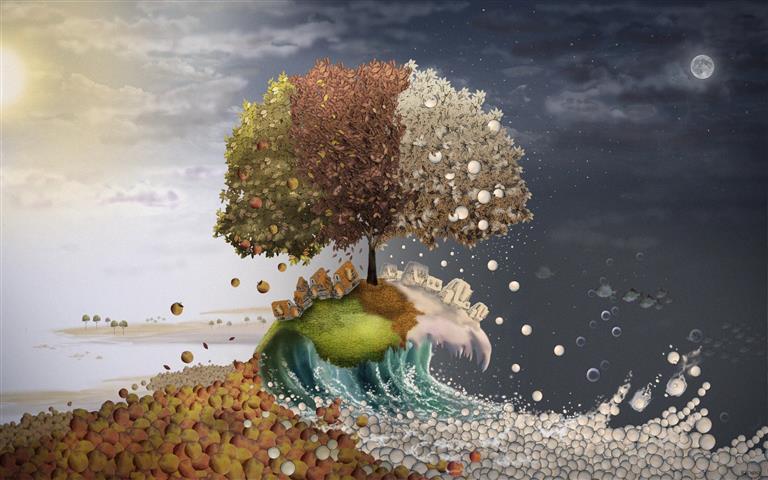 Фотообои искусство яцек йерка дизайн арт