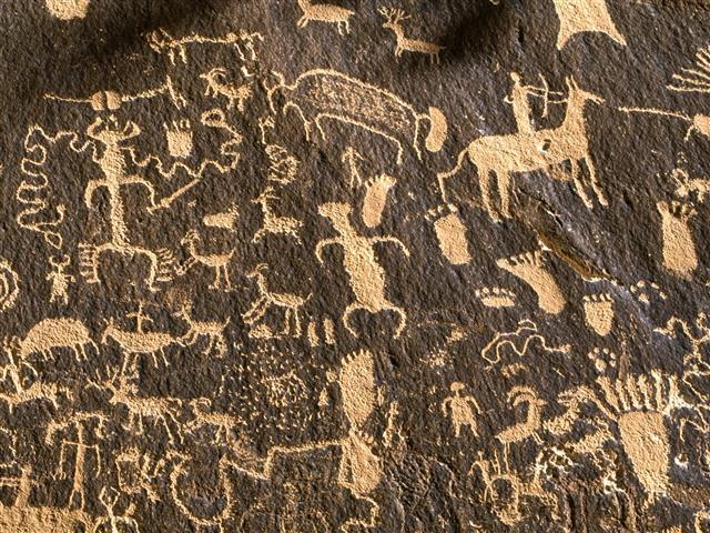 Фотошпалери мистецтво наскельне стіна арт