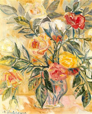 Фотообои искусство цветы ваза арт