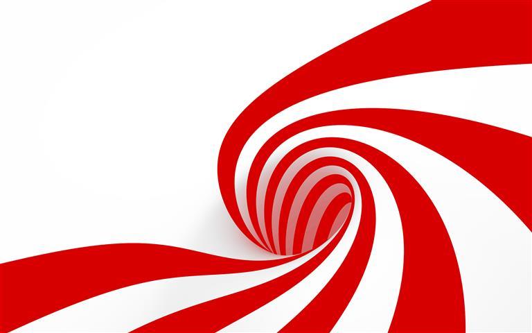 Фотообои искусство спираль красный арт