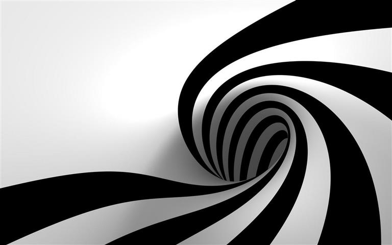 Black and white abstract wallpaper