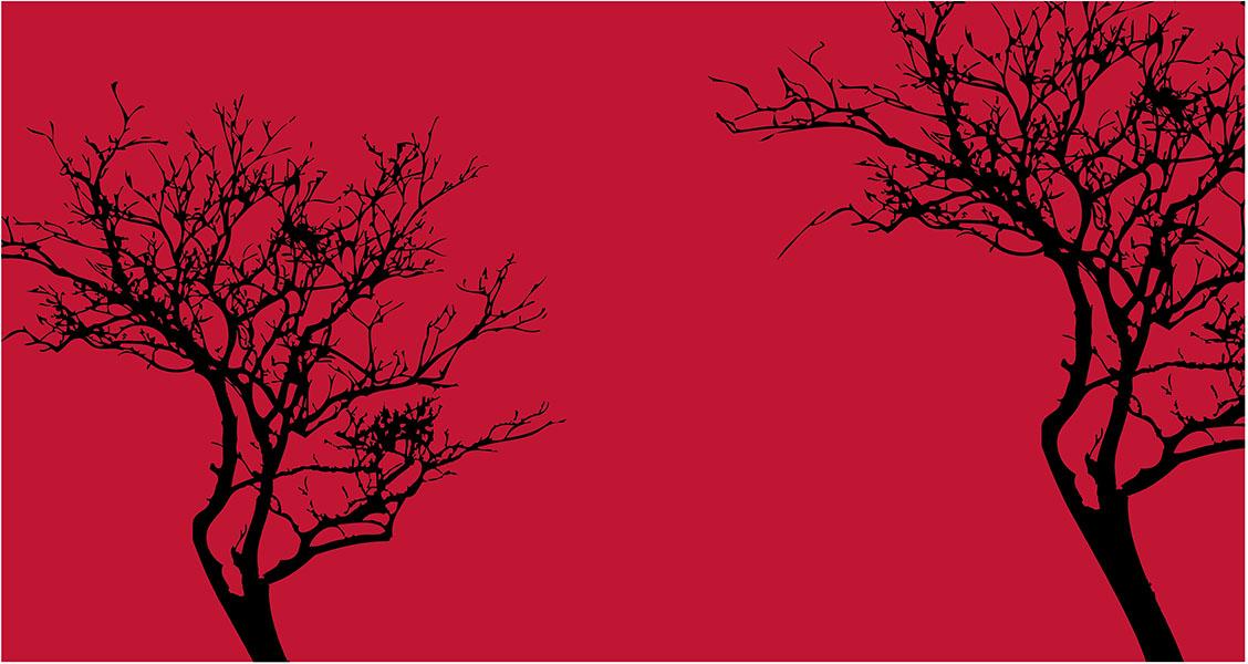 Фотообои дерево стиль стиль минимализм