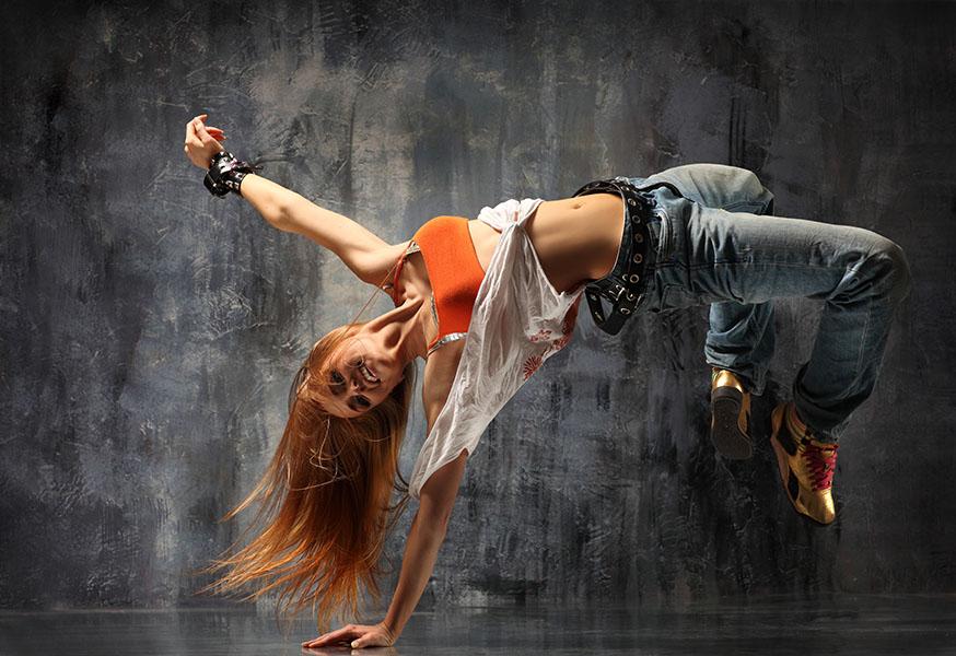 Фотообои танец, тусовка, тусовка, девушка