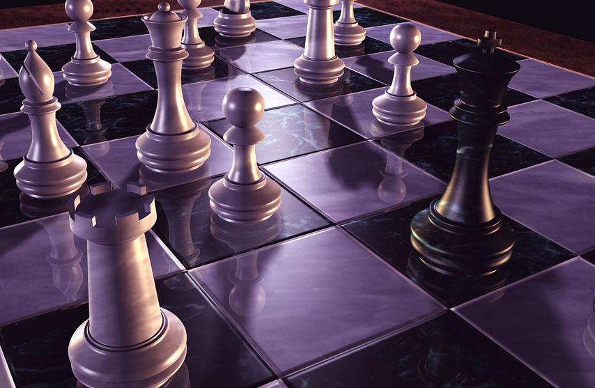 Фотошпалери шахмати фігури доска гра