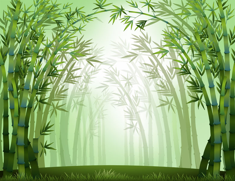 Фотошпалери арт визерунок абстракція бамбук
