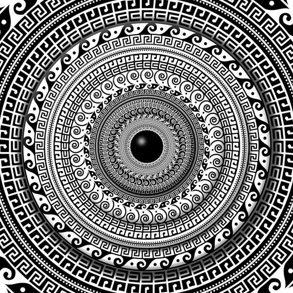 Фотошпалери арт визерунок абстракція мандала