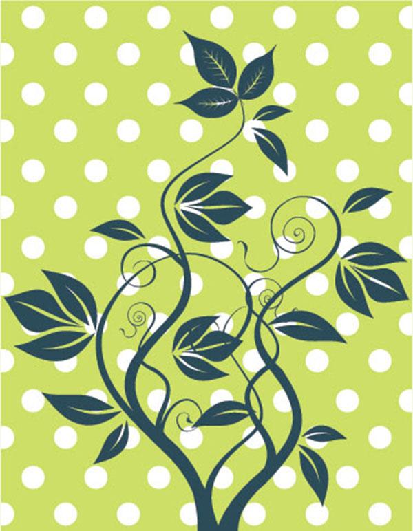 Фотообои арт узор абстракция листья