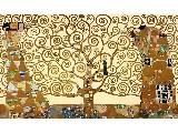 digital mural wallpaper, искусство, древо жизни, густав климт, климт густав