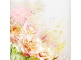digital mural wallpaper, искусство, цветы, розы, арт