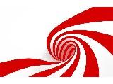 digital mural wallpaper, искусство, спираль, красный, арт