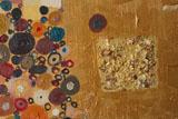 digital mural wallpaper, абстракция, холст, масло, круг