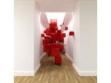 digital mural wallpaper, абстракция, 3д, кубы, арт