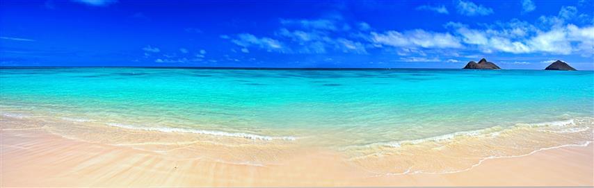 Фотообои море небо океан пляж