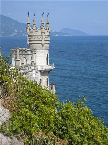 Фотошпалери море Ластівчине гніздо вузький Крим