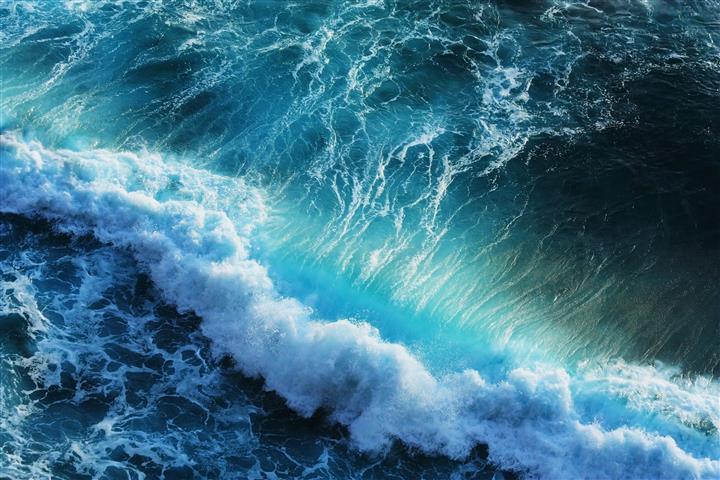 Фотошпалери море океан хвиля вода