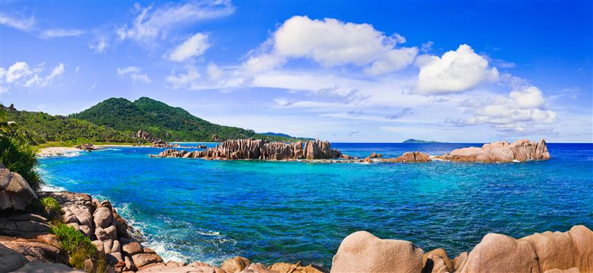 Фотошпалери море камені океан бухта