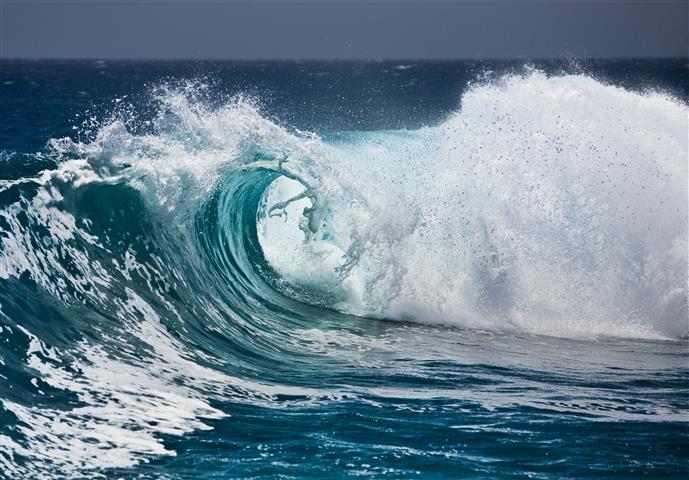 Фотообои море океан волна вода