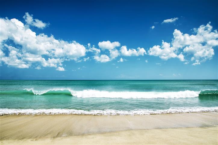 Фотообои море, волна, океан, пляж
