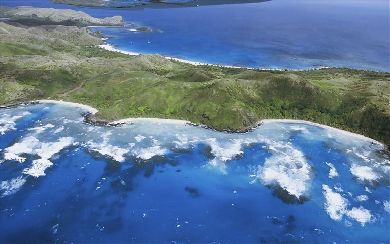 Фотообои море остров океан пляж