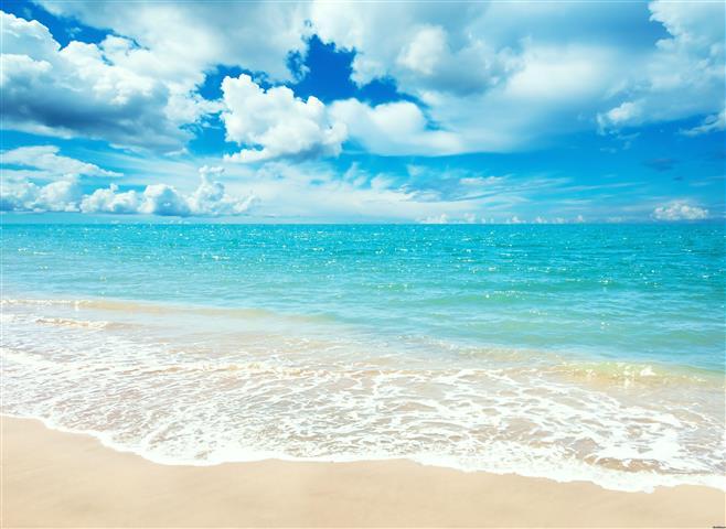 Фотошпалери море океан хвиля пляж
