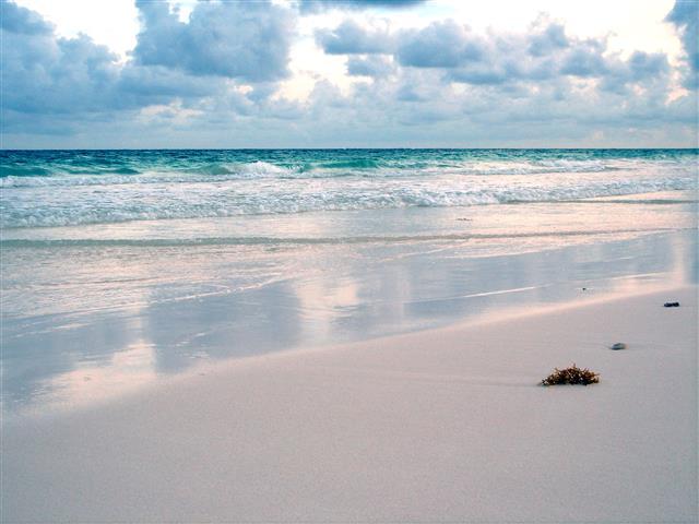 Фотообои море песок океан пляж