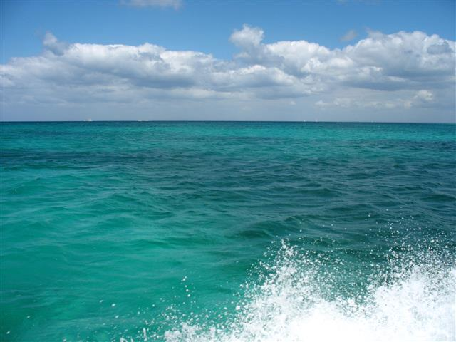 Фотошпалери море хвиля океан небо