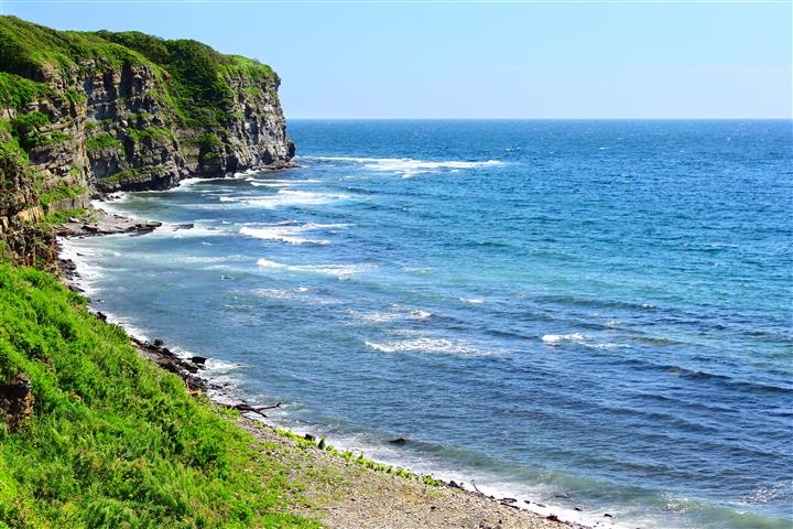 Фотошпалери море бухта океан пляж