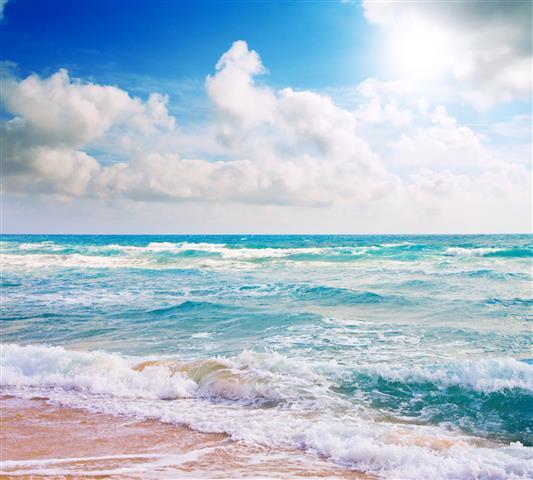 Фотообои море волна океан пляж