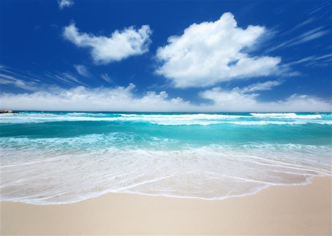 Фотошпалери море пісок океан пляж