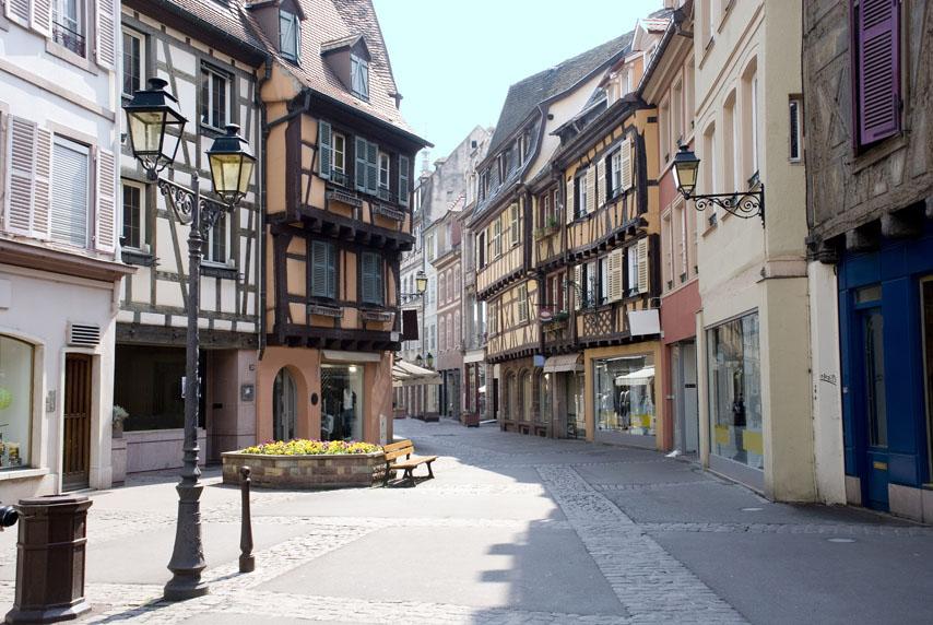 Фотообои город улица европа фотообои