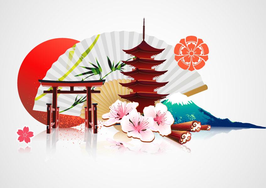 Фотошпалери схід японія китай малюнок