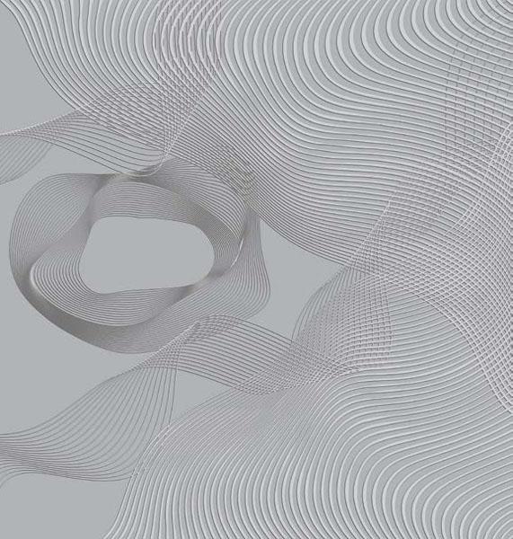 Фотообои рельефные 5д белая абстракция