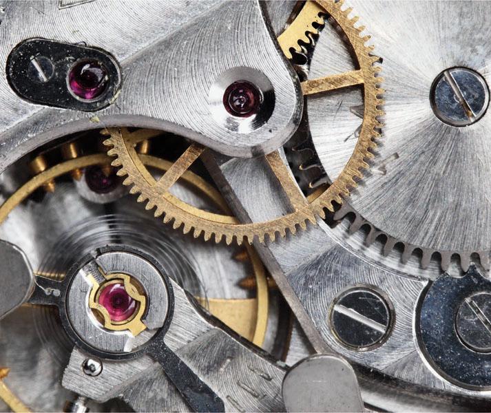 Фотообои рельефные 5д часы механизм