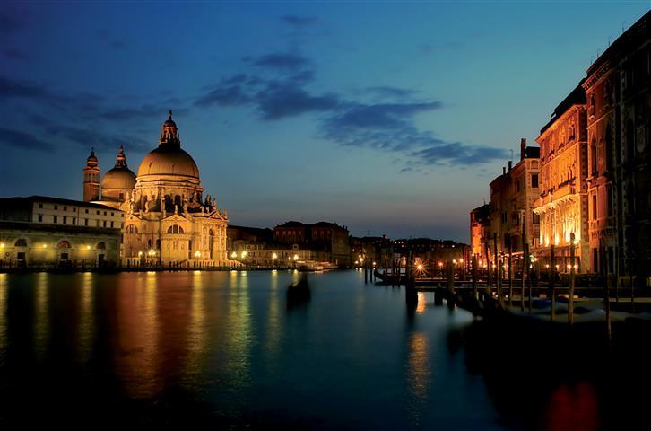 Фотообои венеция италия канал старинный