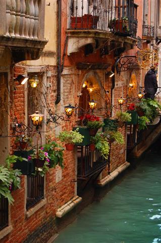 Фотообои венеция, италия, канал, старинный